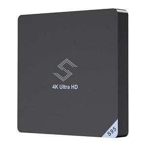Image 1 - Beelink S95 التلفزيون مربع الروبوت 8.1 Amlogic S905X2 2.4 Ghz/5.8 Ghz Wifi Bt4.0 دعم 4K مشغل الوسائط H.265 مجموعة التلفزيون مربع