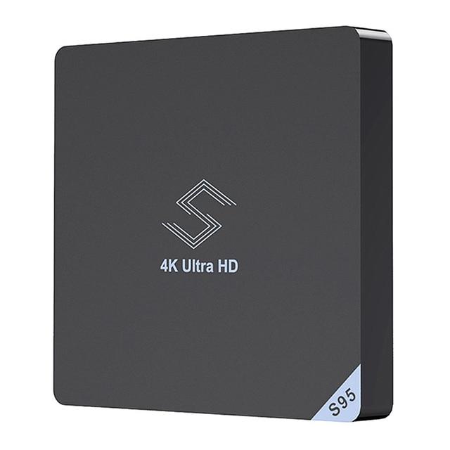 Beelink S95 التلفزيون مربع الروبوت 8.1 Amlogic S905X2 2.4 Ghz/5.8 Ghz Wifi Bt4.0 دعم 4K مشغل الوسائط H.265 مجموعة التلفزيون مربع