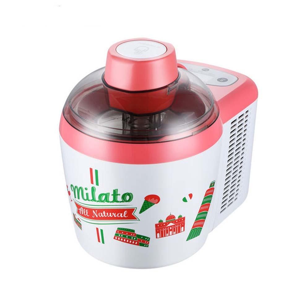 220V Homemade Automatic Hard Soft Ice Cream Maker Ice Makers Fashion Jelly Milkshake Household Yoghurt Dessert Machine