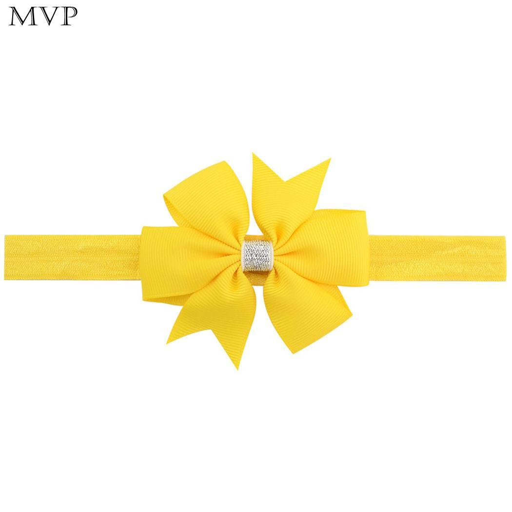 Accessories Sensible Girl Decoration Hair Solid Baby Elasticity Cute Headband Bow Shape Hair Accessories Diademas Para El Pelo Mujer Bandeau Cheveux To Win A High Admiration And Is Widely Trusted At Home And Abroad. Mother & Kids