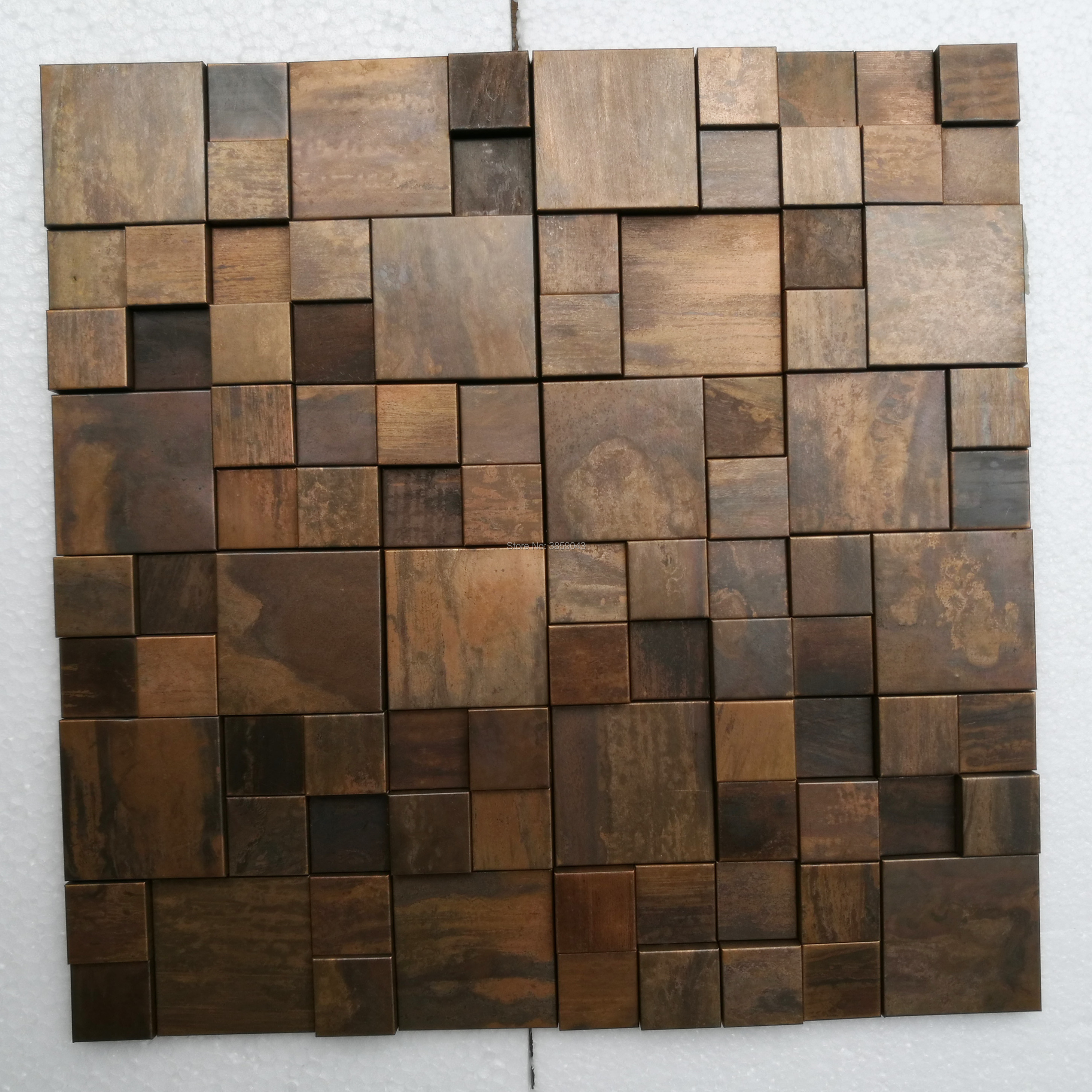 Metal Mosaic Tile For House Decoration