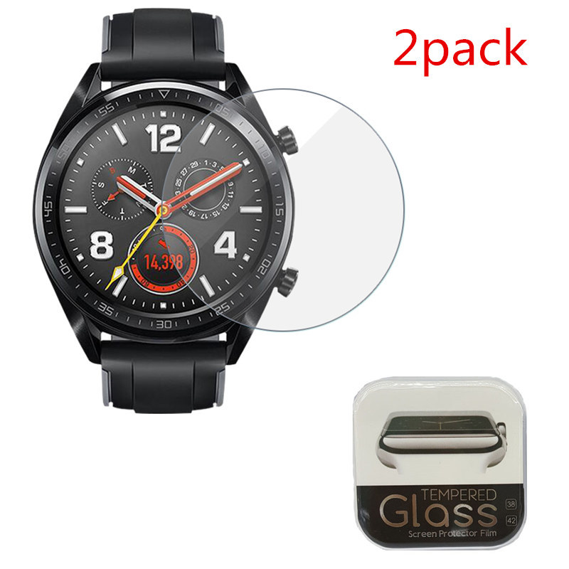 2PCS Screen Protector For Huawei Watch GT Pro 3 2 2018 Honor S1 1/2 High Clear Protective Tempered Glass For Huawei Watch Pro 3