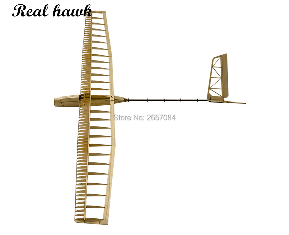 Balsawood Airplanes Model Laser Cut Glider Electric Power UZI 1400mm Wingspan Building Kit Woodiness model /WOOD PLANE
