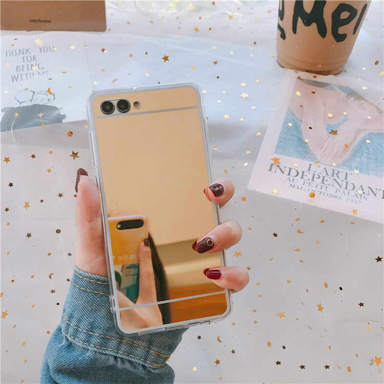 Mirror Effect Case For Huawei Y7Pro Y9 P Smart 2019 P20 Mate20 Lite Pro Honor 8X 8C 7A Pro 7C 10 9 8 Lite Nova 3 3i Soft Cover