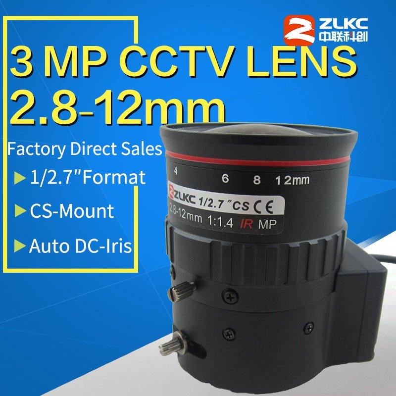 3 megapixel video surveillance  2.8-12mm, 1/2.7 Varifocal Auto Iris Lens  ,CS Mount lens for HD  CCTV cameras cs Interface3 megapixel video surveillance  2.8-12mm, 1/2.7 Varifocal Auto Iris Lens  ,CS Mount lens for HD  CCTV cameras cs Interface