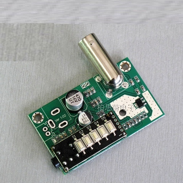 us 8 64 8% off fm transmitter 1w high power transmitter circuit board radio broadcast wireless microphone module pcb amplifier in connectors from