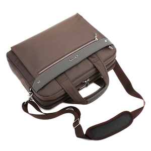 حقيبة أنيقة ذات سعة كبيرة الرجال واحد الكتف حقائب مكتبية للأعمال الرجال حقيبة العلامة التجارية 15 16 17 بوصة الذكور محمول رجل حقيبة