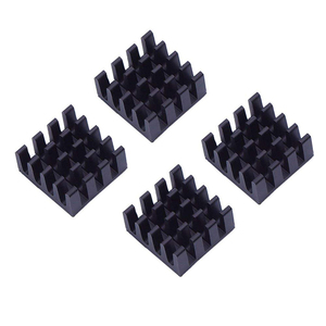 Image 2 - 8pcs עבור פטל Pi אלומיניום גוף קירור גוף קירור מחשב Cooler רדיאטור אלקטרוני שבב חום פיזור קירור רפידות