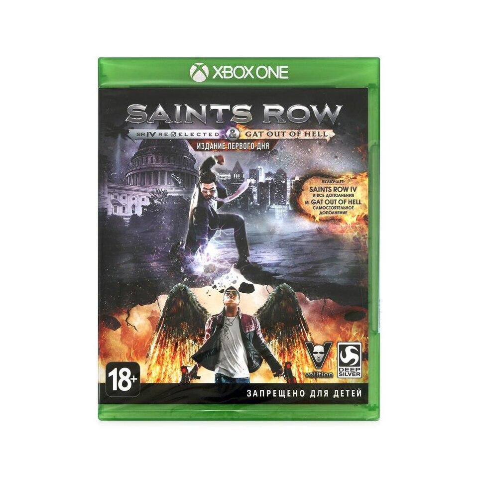 Купить со скидкой Игра Saints Row IV - Re-Elected для xbox One