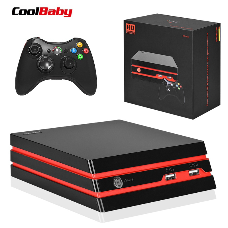 New Coolbaby Rs-93 Hdmi/Av Video Game Console 64 Bit Support 4k Output Retro 600 Classic Family Video Games Retro Game Console