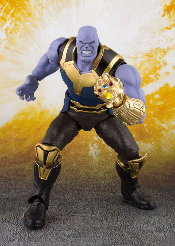 Hot Avengers 4 Marvel Movie Thanos Movable Action Figure Doll Infinite War PVC Material Thanos Figure For Fans Collection ToysHot Avengers 4 Marvel Movie Thanos Movable Action Figure Doll Infinite War PVC Material Thanos Figure For Fans Collection Toys