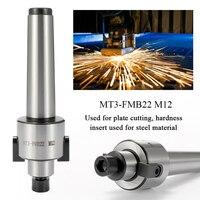 הפיכת כלי חיתוך MT3 FMB22 M12 מיל ארבור מורס טייפר כלי מחזיק CNC פלייט חיתוך כלי מכונת דיוק גבוהה הפיכת כלי (4)