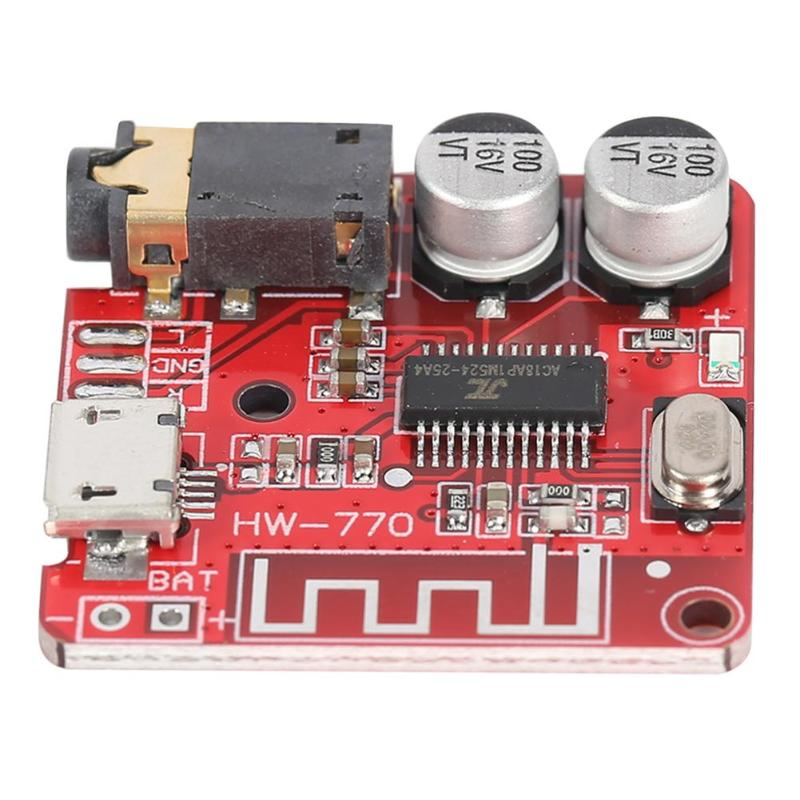 5V MP3 Bluetooth Decoder Board Lossless Car Speaker Audio Amplifier Board Modified Bluetooth 4.1 Circuit Stereo Receiver Module