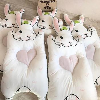 21792730c Nórdico bebé alfombra de algodón gruesa almohadilla casa alfombras de  algodón bebé gatear manta niños Bunny juego de mapache alfombras