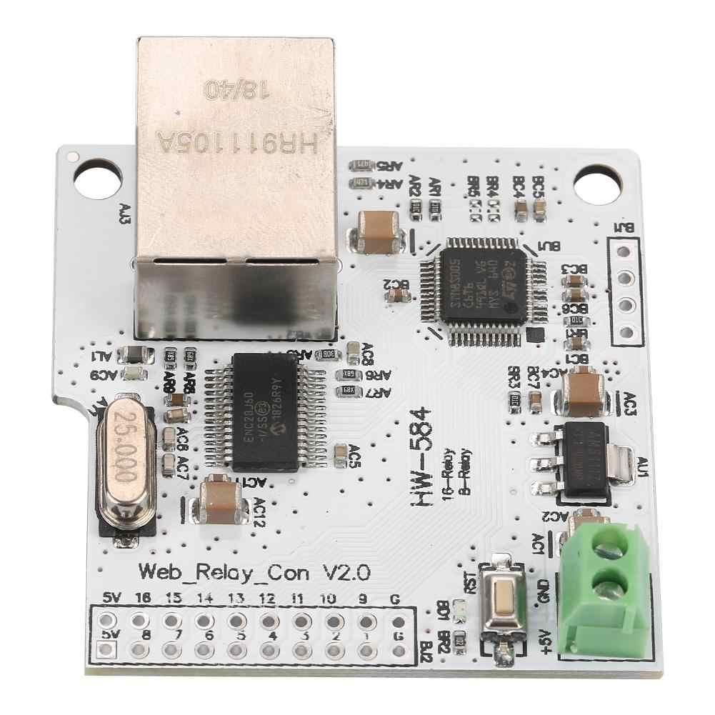 Đầu Ghi Hình 8 Kênh W5100 Mạng Điều Khiển 5V Internet Module Relay Bán Buôn