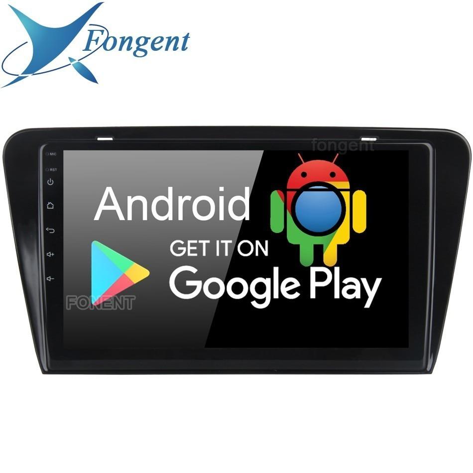 Android 9.0 2Din Head Unit For Skoda Superb 2008 2009 2010 2011 2012 2013 2014 Car Radio Gps Navigator DSP Multimedia Player PX6