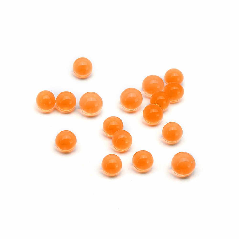 10000 Buah/Bungkus Peluru Air Gel Bola 7 Mm Amunisi Air Kristal Bead untuk GEL Gu N Peledakan Mainan Orange Mengeras gel Bola