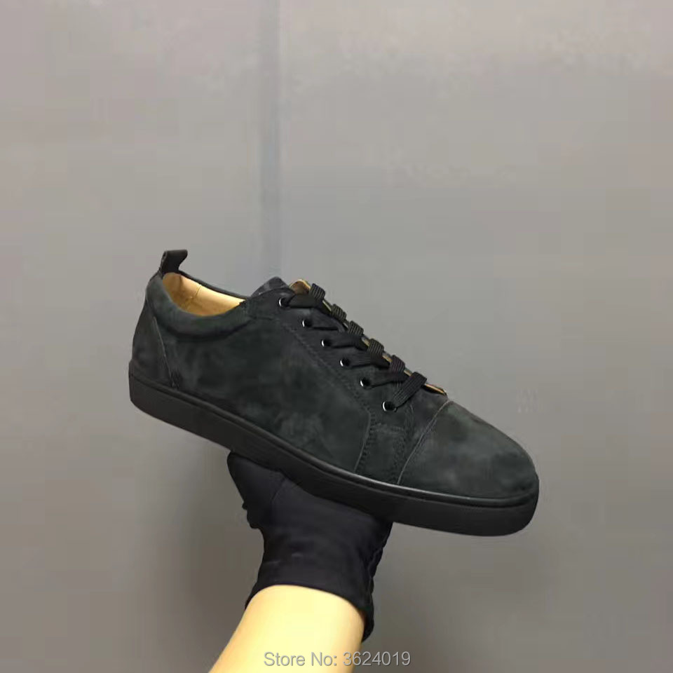577c671616f Low-Cut-cl-andgz-hombres-zapatos-de-encaje-negro-remache-zapatos-de-fondo-rojo-para-hombre.jpg