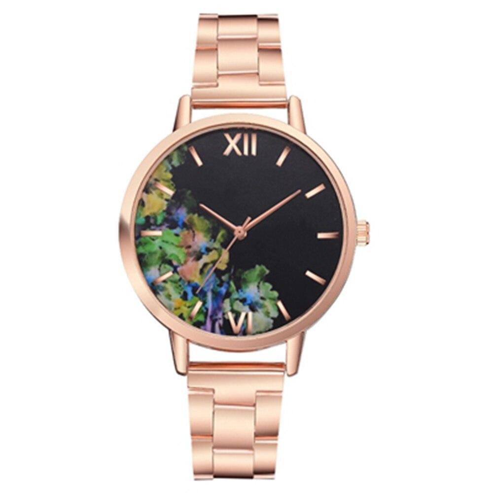 Stainless Steel Dress  Lady Watch  Gift Present  Quartz Wrist Watches  Fashion Women Watches  2019 New Women Watch