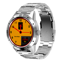 Metal Strap N6 Smartwatch Waterproof Smart Watch Men Heart Rate Monitor Sport Smart Wristband For Ios Android phone Wristwatch