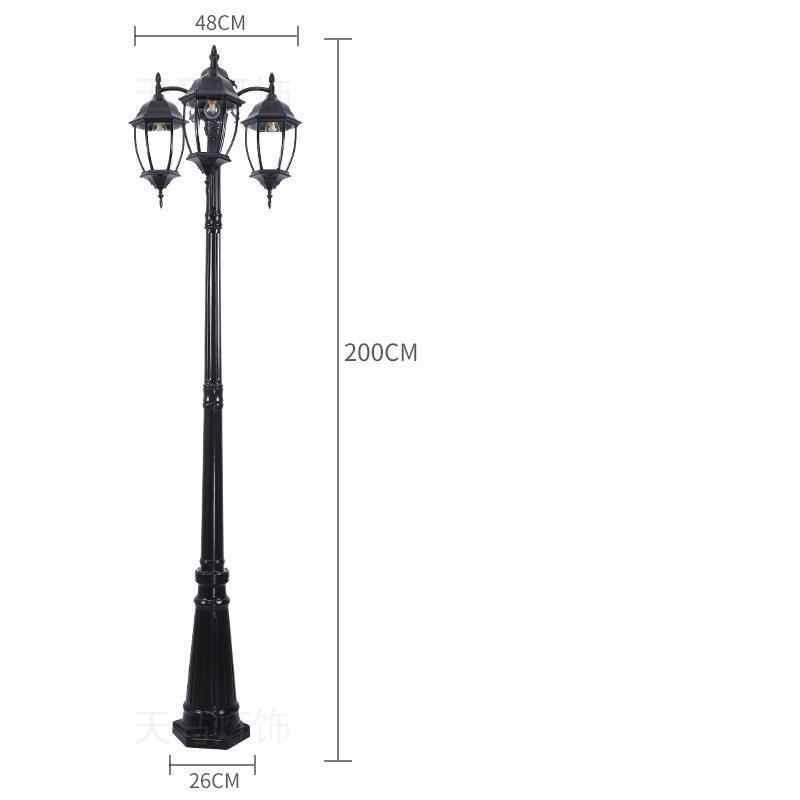 Sokak Ламба фарола Сад Стиль Lampioni да Esterno Eclairage наружный прожектор Uliczna Lampione Led Off уличное освещение