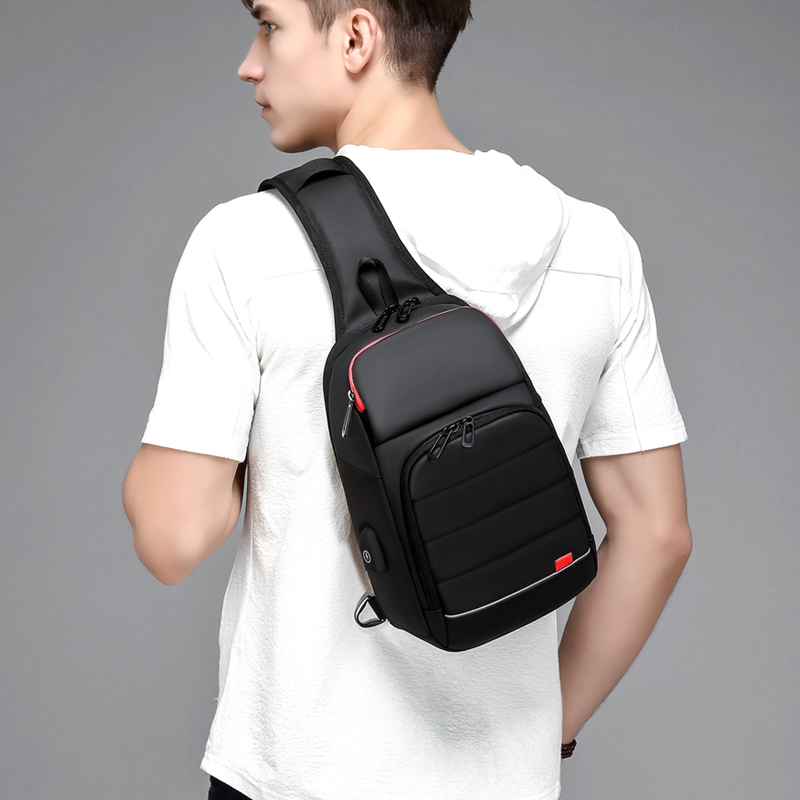 EURCOOL 2019 NEW Men Chest bag for 9.7