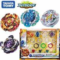 Original TOMY Beyblade explosión fafnir B128 B127 CHO-Z Valquiria Z ev con lanzador Bayblade be blade top spinner juguete para niños
