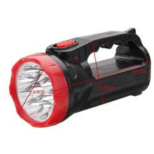 1 xRechargeable факел 9LED свечи Мощность рабочие точечные светильники Кемпинг ручной флэш-лампа