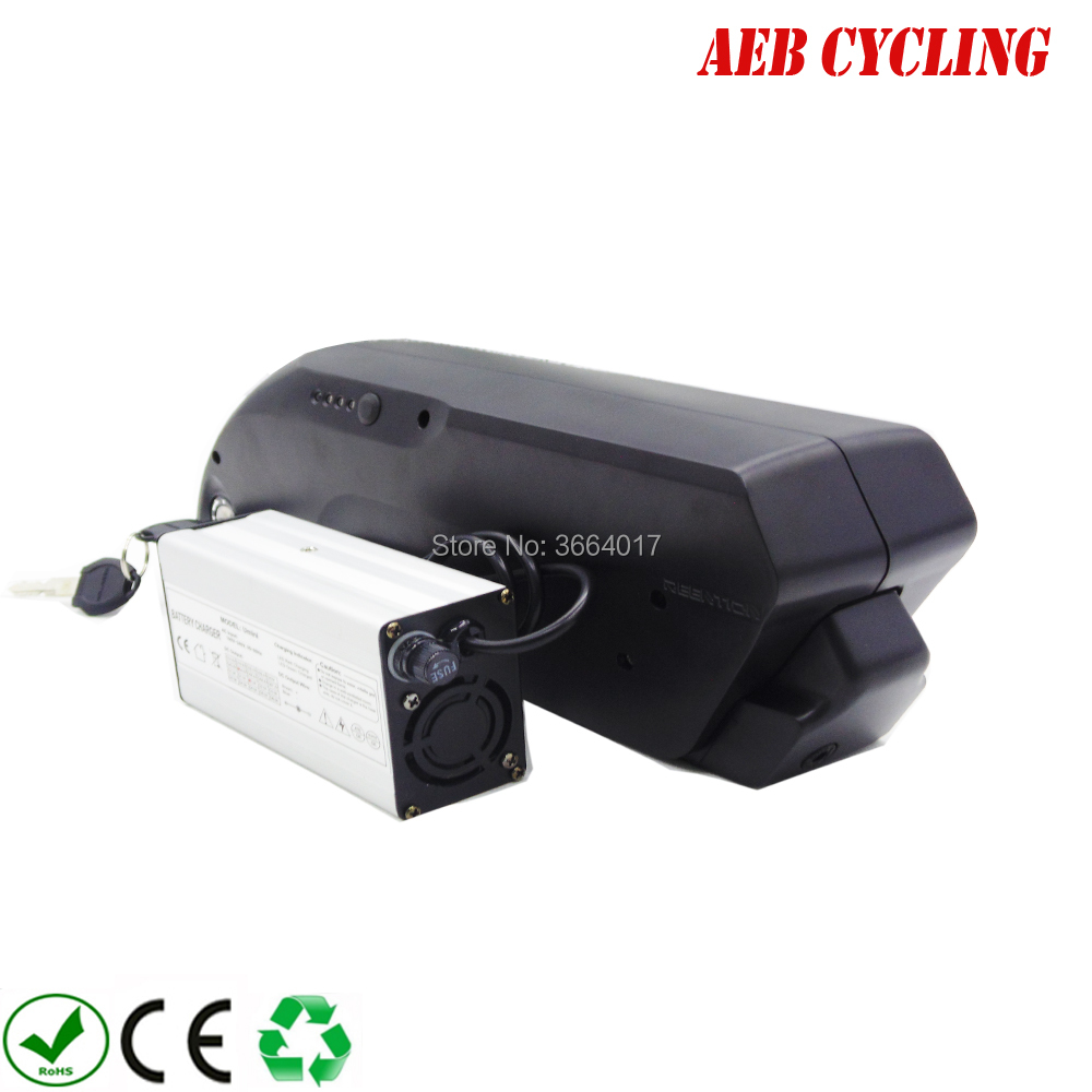 Free Shipping Li-ion Rechargeable <font><b>36v</b></font> 48v E-bike <font><b>battery</b></font> 250w 350w 500w 750w <font><b>1000w</b></font> 10-17.5Ah <font><b>battery</b></font> <font><b>pack</b></font> for fat tire bike image