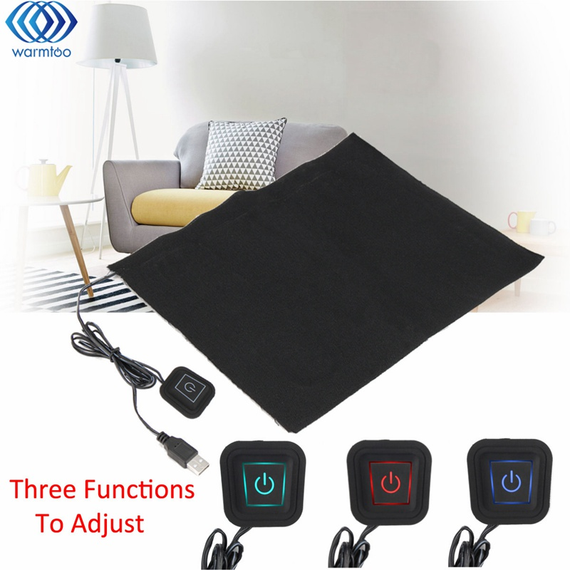 5V USB Electric Clothes Heater Sheet Adjustable Temperature Winter Heated Gloves For Cloth Pet Heating Pad Waist Warmer Tablet 5v usb electric clothes heater sheet adjustable temperature winter heated gloves for cloth pet heating pad waist warmer tablet