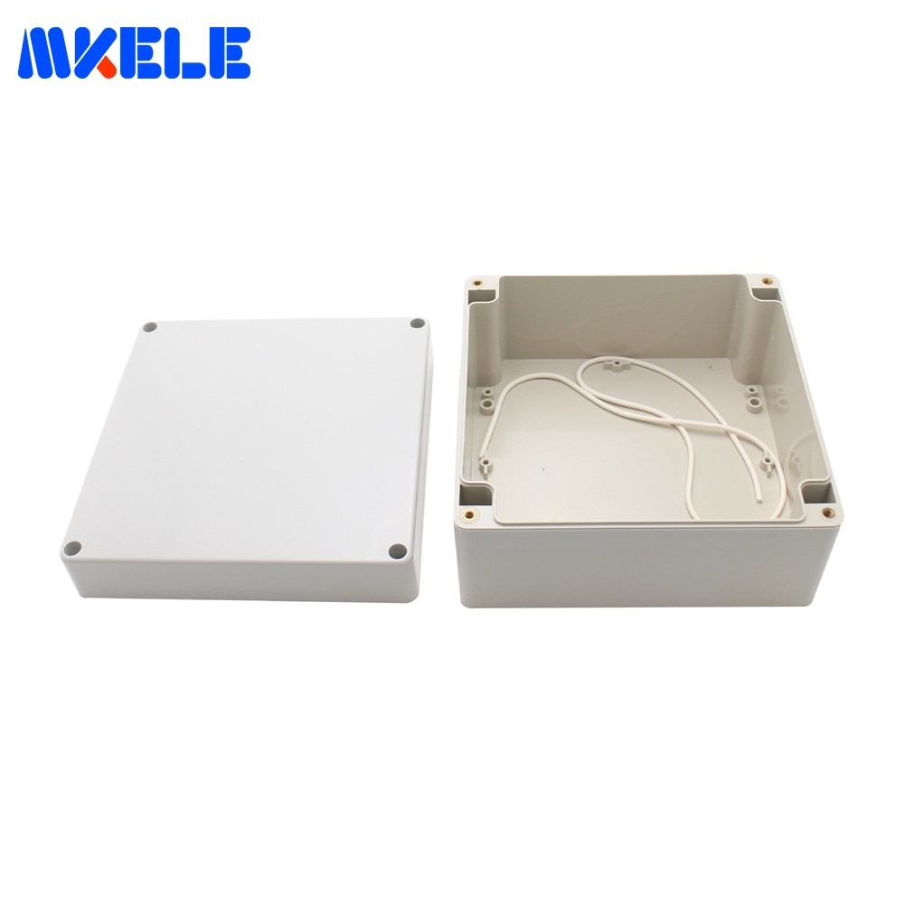 160*160*90mm ABS Plastic Electronics Project Box Enclosure Hobby Case With Screw