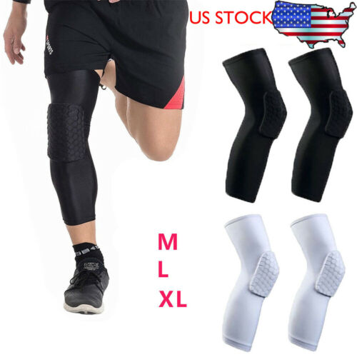 2019 New Knee Sleeve Pads Basketball Shockproof Breathable Light Brace Sleeve Patella