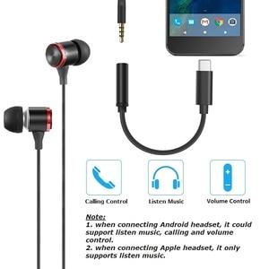 Image 5 - Typ C 3,5 Jack Kopfhörer USB C zu 3,5mm AUX Digital Audio Adapter DAC 32Bits/384KHZ für Pixel 3/3XL Mate 20 P30 Oneplus 7 Xiaomi