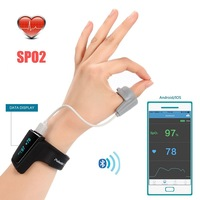 Smart Watch Pulse Oximetry Detector SPO2 Monitor Heart Rate Respiratory Sleep Monitoring Pulse Oximeter Apnea Aid Alarm Watch