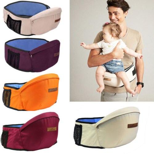 Baby Carrier Waist Stool Walker Sling Hold Belt Backpack Kids Infant Hip Seat US