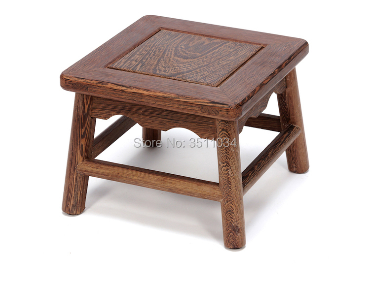 Stupendous Us 74 1 5 Off New Arrival Japanese Antique Wooden Stool Chicken Wingwood Asian Traditional Furniture Living Room Portable Small Wood Low Stool In Customarchery Wood Chair Design Ideas Customarcherynet