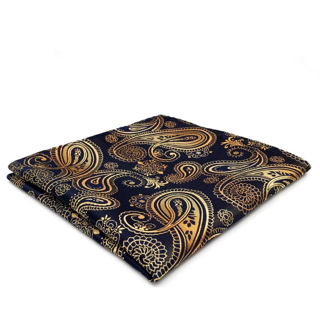 UH10 Handkerchief Paisley Multicolor Mens Pocket Square Silk Dress Designers Fashion Hanky