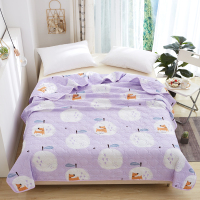 New Summer Printing Quilt Duvet Blanket Quilting Bedding For Polyester Adult Double Single Bed Comforters Bedspread Bed Cover