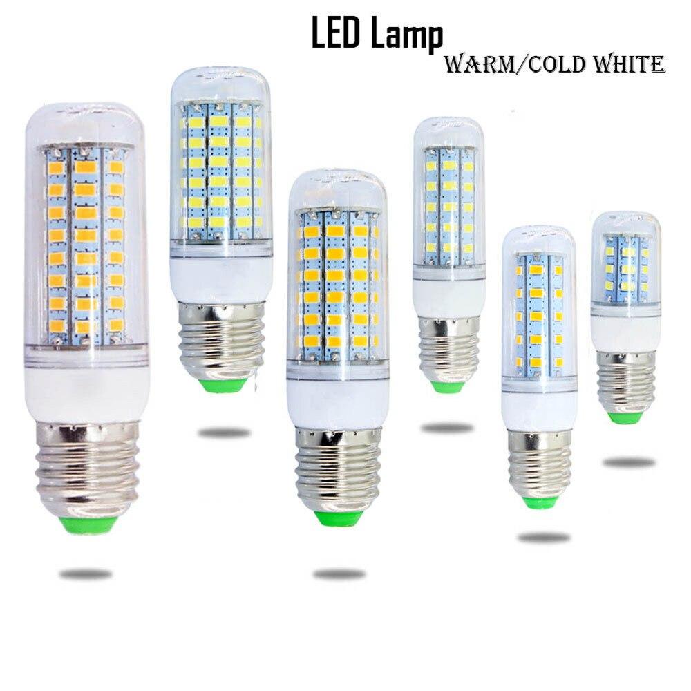 1 Pc Led Lampe E27 5 W 6 W 7 W Smd 5730 Mais Birne Led-energiesparlampe 220 V Warmweiß Kaltweiß Hause Nacht Licht