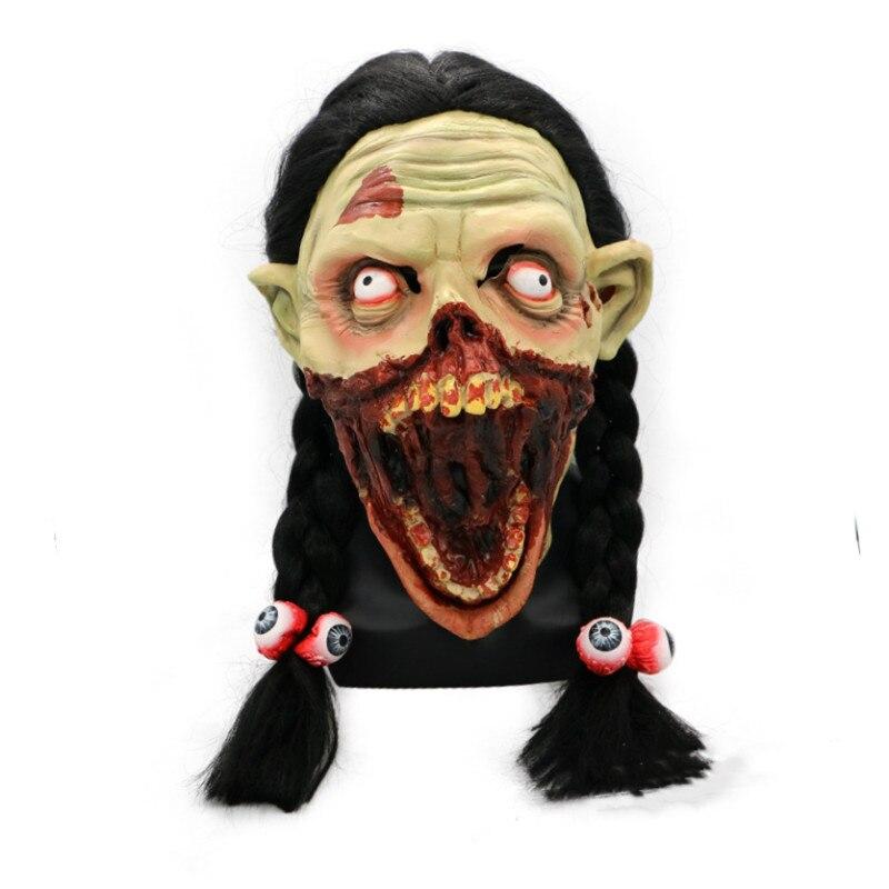 Aliexpress.com : Buy Women Zombie Mask Devil Terror Latex