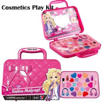 Rosa No Kit De Niños Conjunto Cosmética Princesa Vestir Caja Maquillaje Tóxico Para Juego Los Seguridad Hacer Juguete Niñas Juguetes PkXiZTwOu