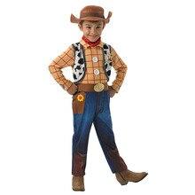 Горячая Распродажа, детский маскарадный костюм Вуди из истории игрушек для мальчиков