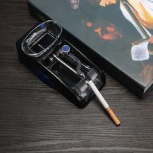 Однотрубный инжектор сигарет ролик для 8 мм трубки прокатки табака машина для розлива сигарет машина