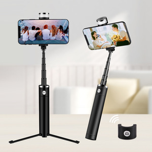 Image 5 - Portable Mobile Phone Holder Tripod Camera With A Wireless Bluetooth Remote Self Timer Artifact Rod