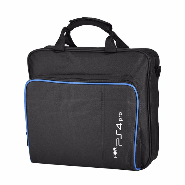 for PS4 Pro Game System Travel Bag Canvas Case Protect Shoulder Carry Bag Handbag for Sony PlayStation 4 Console Accessories