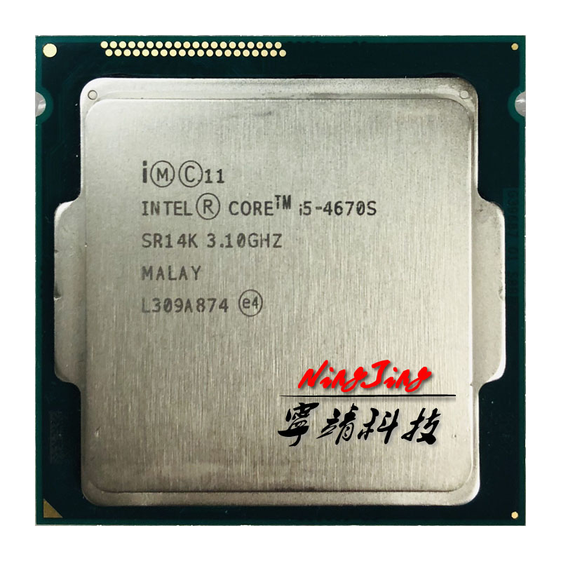 Intel Core i5 4670S i5 4670S 3.1 GHz Quad Core CPU Processor 6M 65W LGA 1150-in CPU's van Computer & Kantoor op AliExpress - 11.11_Dubbel 11Vrijgezellendag 1