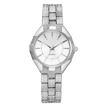 Ladies' Leisure Alloy Quartz Watch New Hot Sale Exquisite Personality Stainless Steel Band Watch Silver Gold Watch for Women все цены
