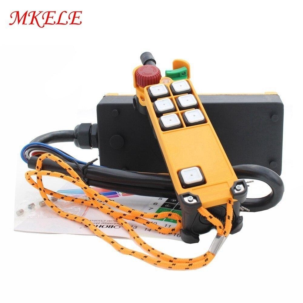 MKHS-4S industrielle télécommande grue nouveaux arrivants AC110V 220 V DC12V 24 V sans fil transmetteur bouton poussoir chine