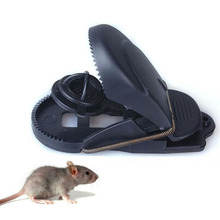 Mice Catcher Mouse Trap Reusable Sensitive Plastic Snap Bait Clamp Rat Catching Spring Rodent Repeller
