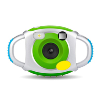 Kids Camera, Kids Digital Video Camera with Soft Silicone Protective Shell